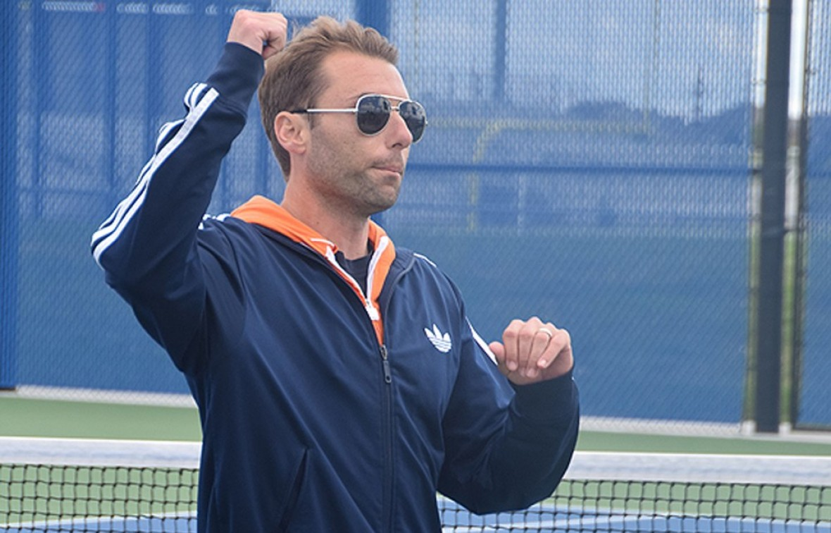 Photo for Joe Ahmadian to Resign as Head Tennis Coach