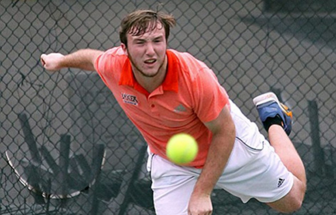 Thomas Irick and the men's tennis team have won 10-straight matches