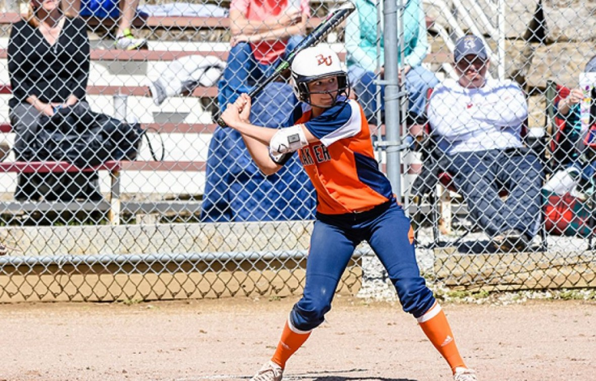 Caitlin Hargrove went 4-for-4 in game two on Saturday