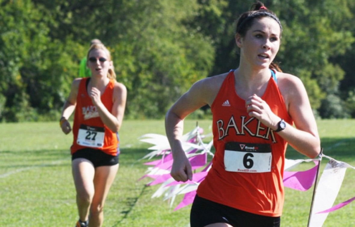 Rosie Hollis led Baker with her fifth place finish on Saturday at the Southern Stampede