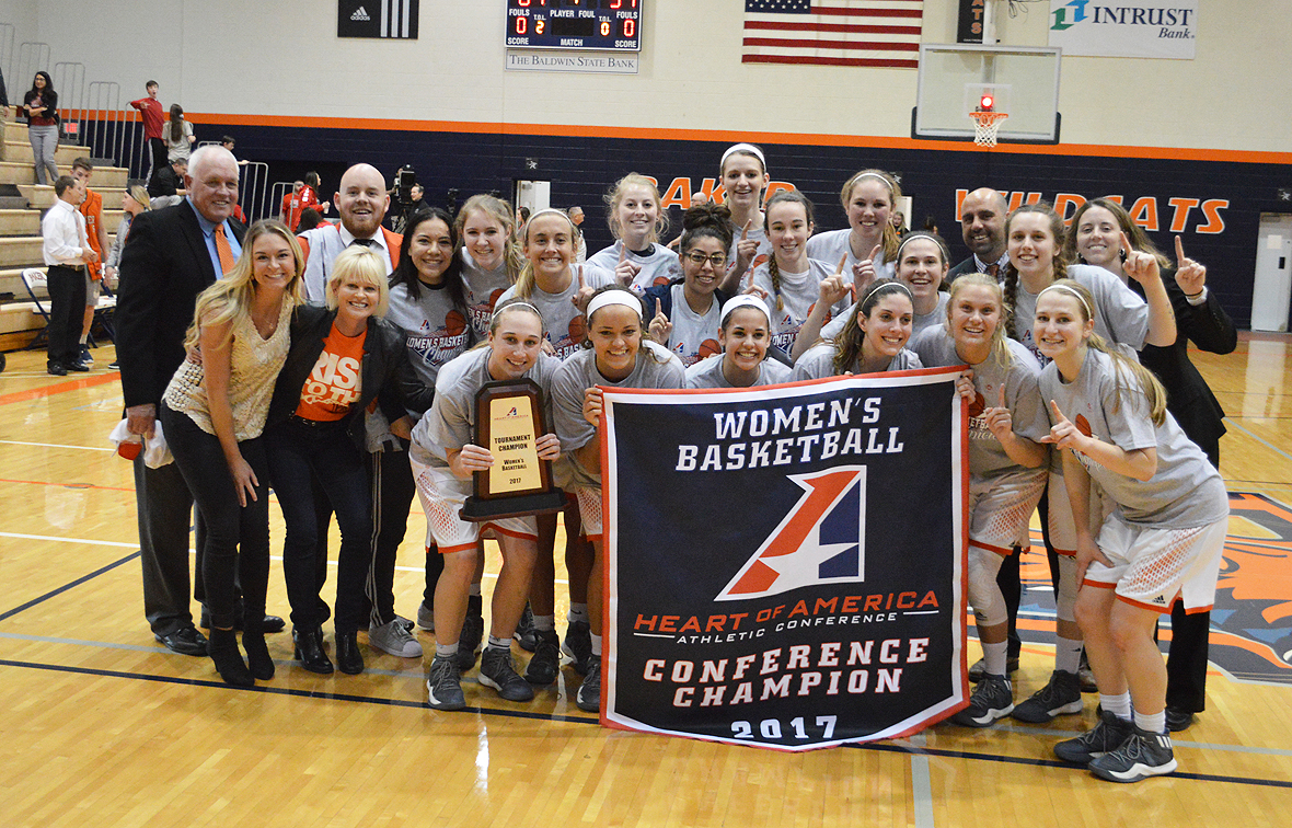 Photo for No. 1 Baker Captures First Ever Heart Conference Tournament Title