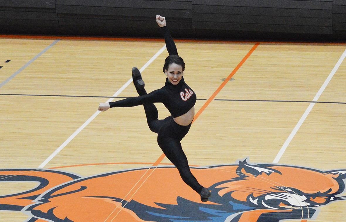 Alyssa Monson and the rest of the BU Dance team will compete at the 2017 NAIA Competitive Dance National Championship Mar. 10