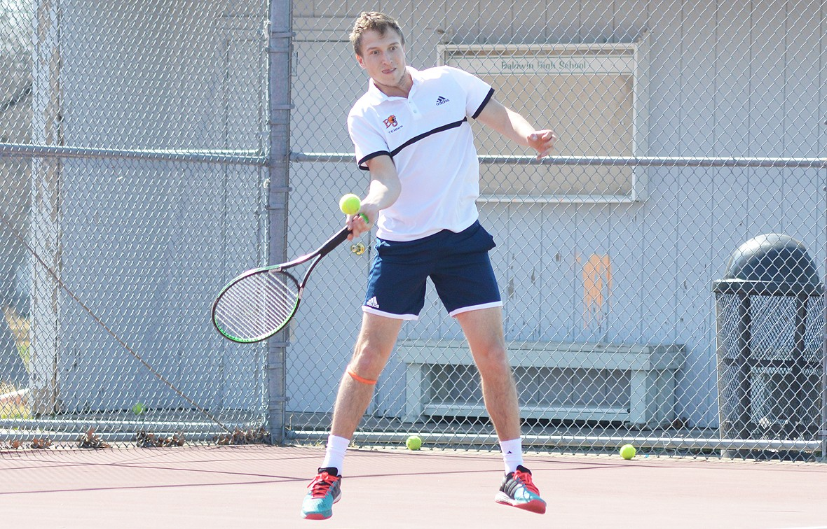 Blake Barnard was selected to the 2017 First Team All-Conference as a singles player