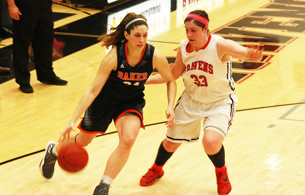 Sydney Buchel and No. 1 Baker hosts No. 2 Benedictine in the Heart Championship Game Monday at 7:07 p.m.