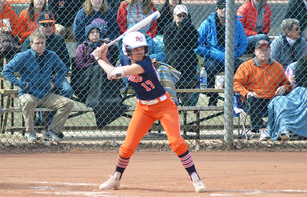 Caitlin Hardgrove had four hits on the day on Sunday against Concordia