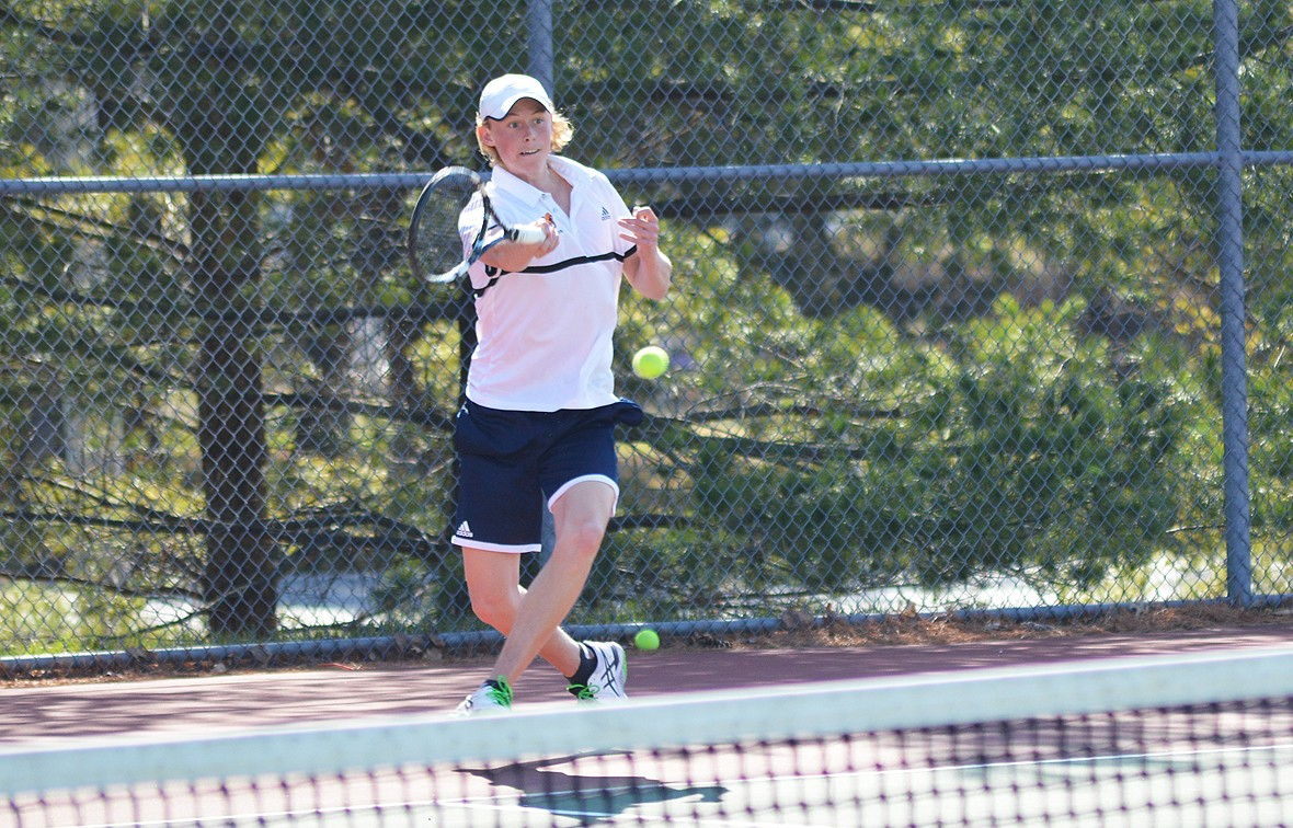 Conner Petty and the Wildcats defeated Hesston College, 8-1, on Saturday