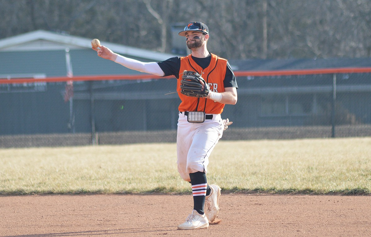 Dylan Carrender and the Wildcats won on a walk-off in game two against MNU