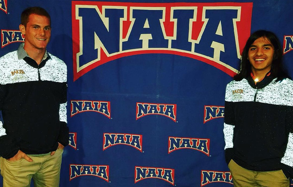 Joe Linder (left) finished in 150th place, while Greg Flores (right) took home 130th at the NAIA National Championship on Sat