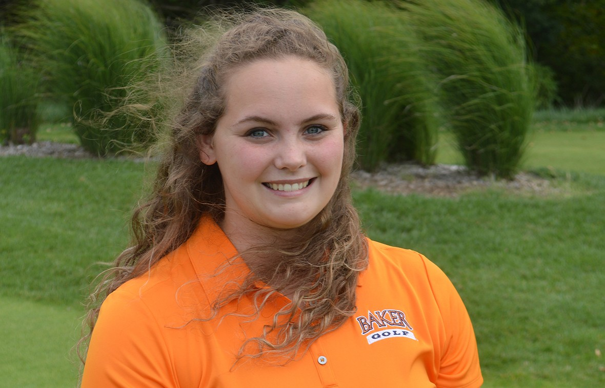 Makenzi Turley shot a hole-in-one in Sunday's practice round