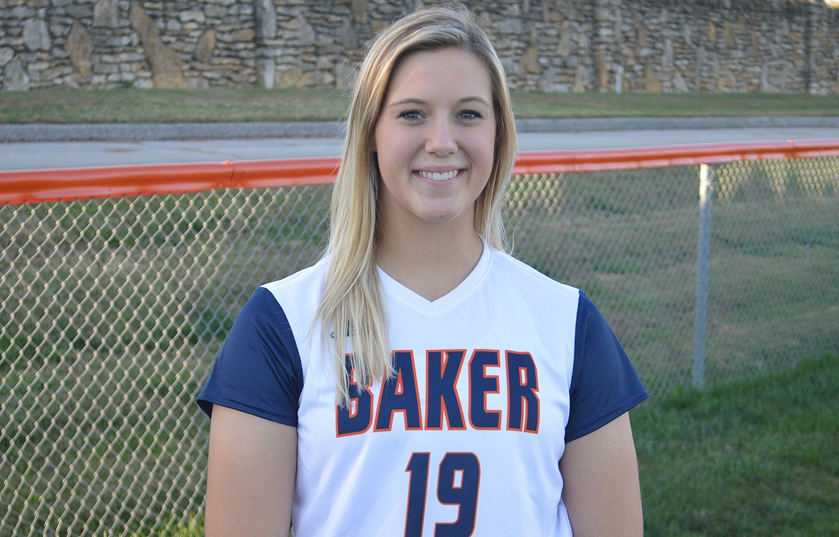 Olivia Brees is the first Baker softball player to earn All-America honors since 2013