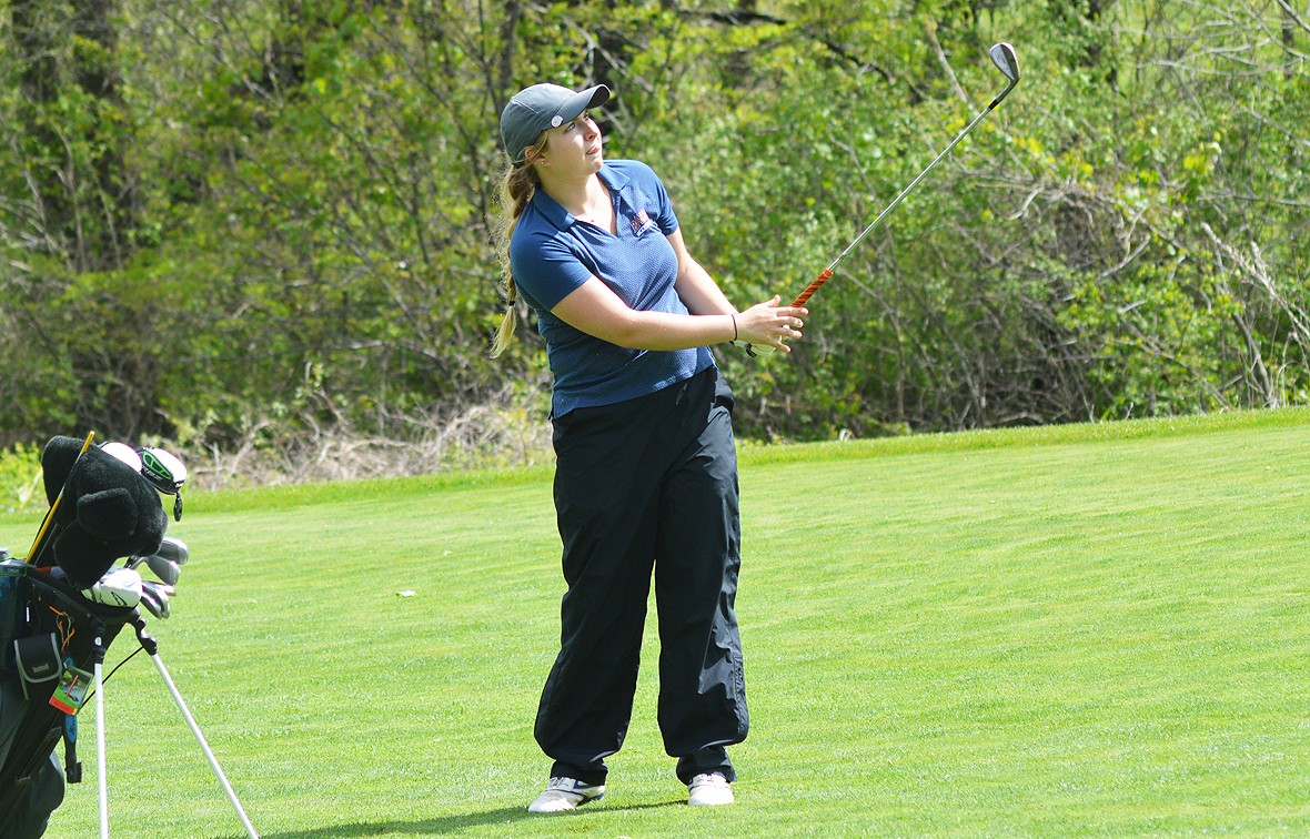 Photo for Samantha Mitchell Selected Heart Women's Golfer of the Week