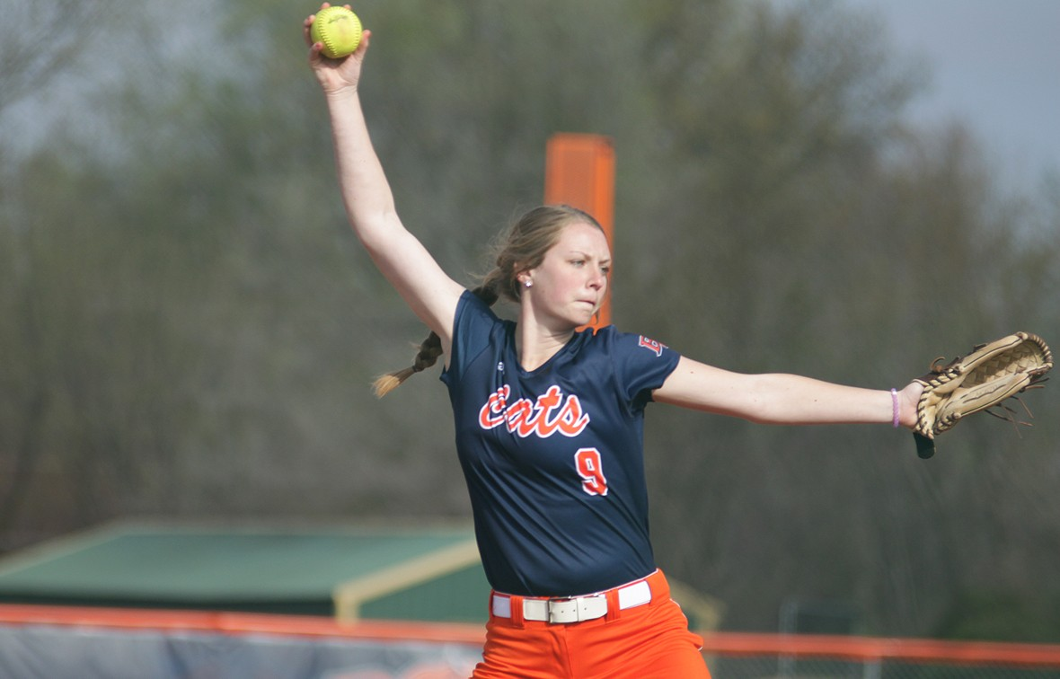 Teagan Louthan threw a complete game on Wednesday