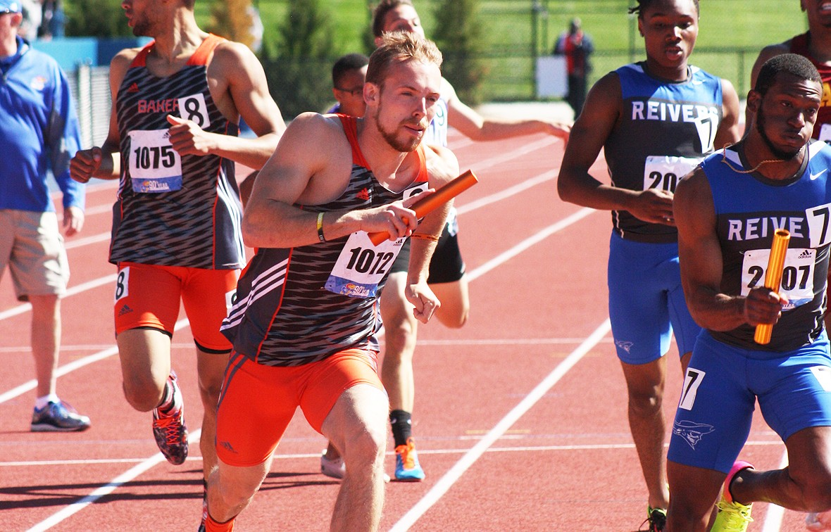 Tyler Randall (pictured) is one of three Baker men's track & field athletes to earn the NAIA Scholar-Athlete award in 2017