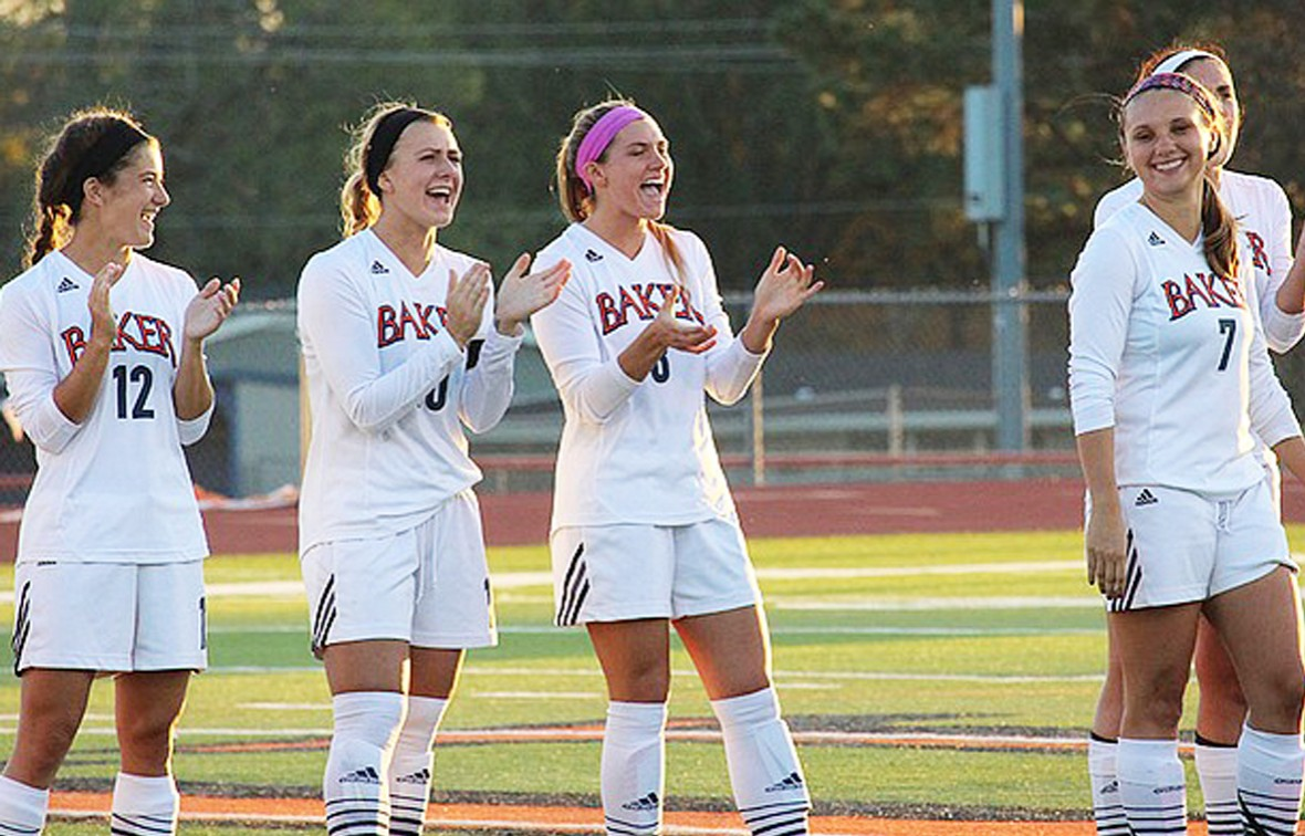 Photo for Baker Women's Soccer Ends 2016 with Highest Ranking in Program History
