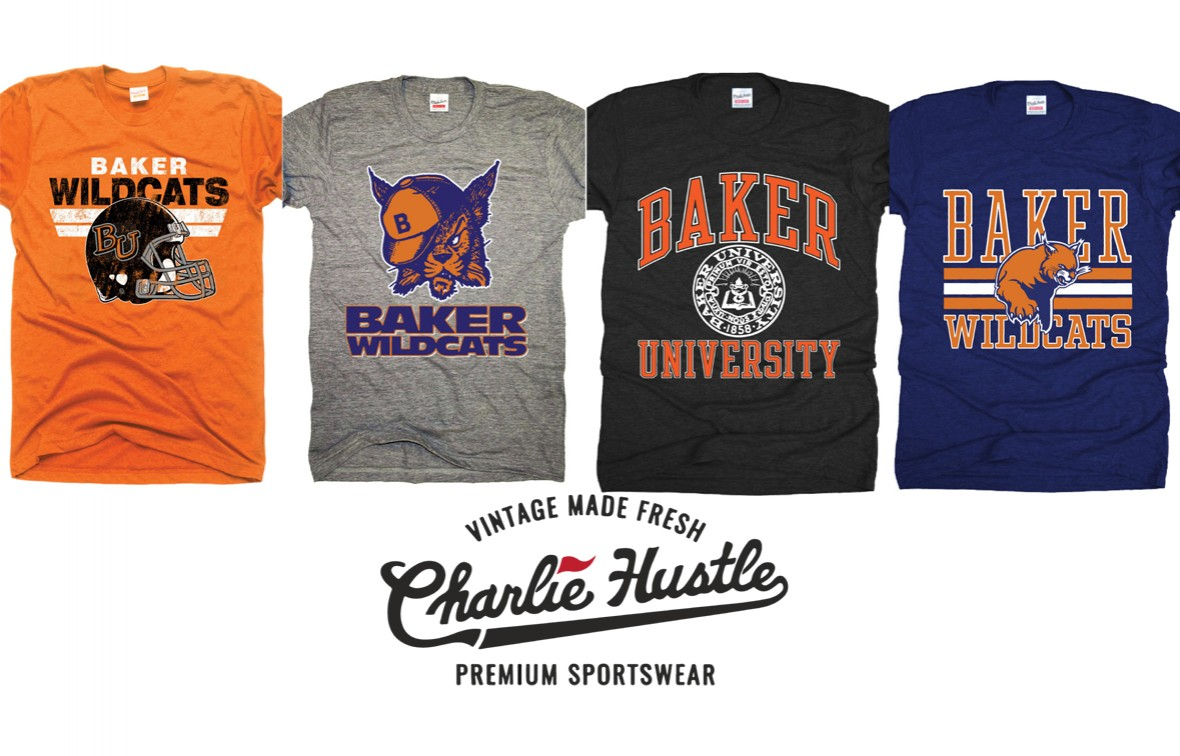 Baker is the newest University to partner with the wildly popular Charlie Hustle company