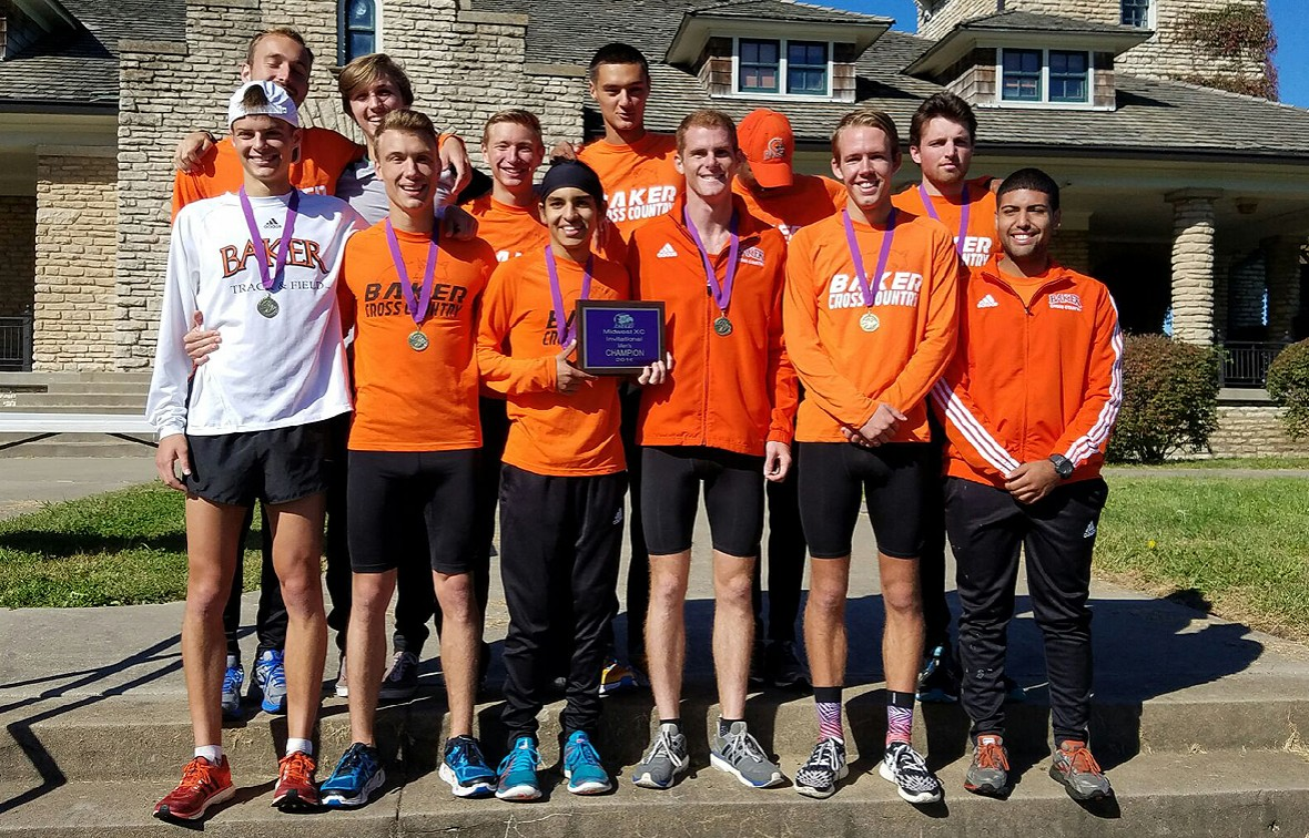 Photo for Baker Men Take First, Women 4th at Midwest XC Invitational in KC