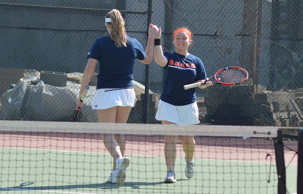 Photo for Baker Tennis Has Busy Weekend