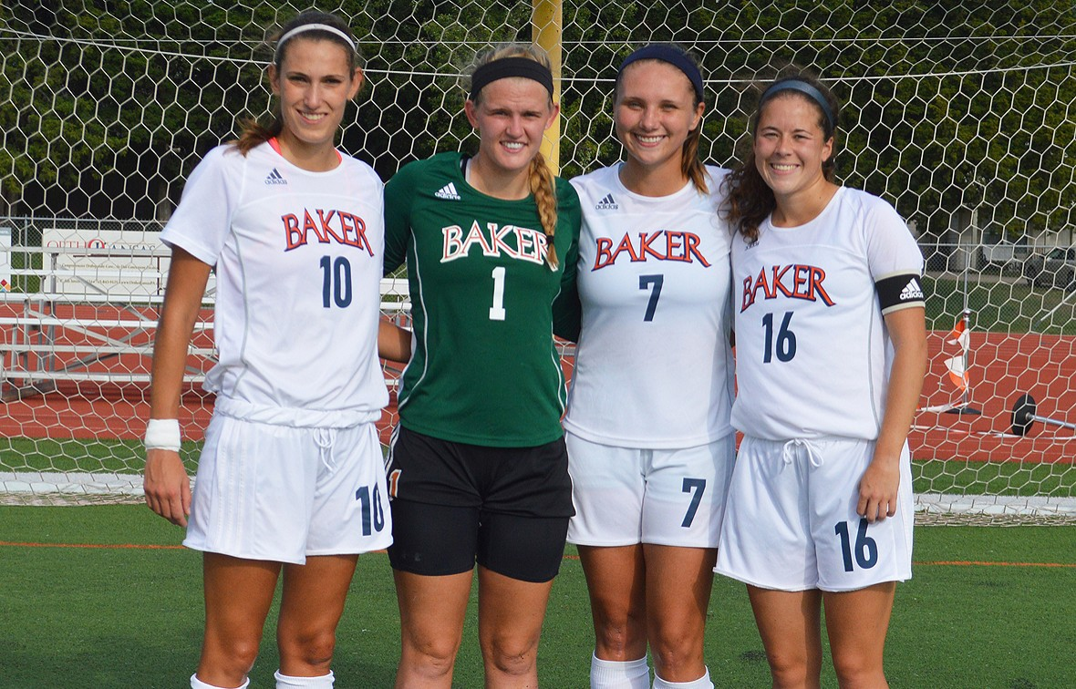 These four seniors earned an 8-1 win on Senior Night on Friday