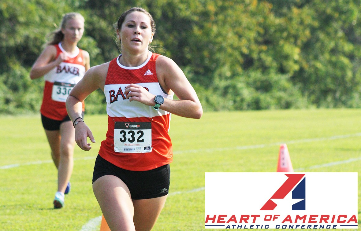 Rosie Hollis (pictured) and teammate Greg Flores won this week's Heart Runner of the Week awards
